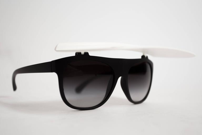 Chanel Visor Sunglasses, circa 2014 For Sale 2