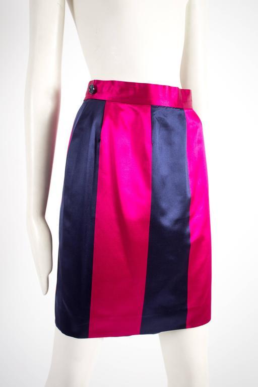 Christian Dior by Gianfranco Ferré silk evening flamenco skirt, circa 1993 For Sale 2