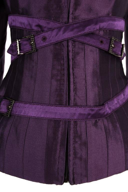Alexander McQueen bondage evening jacket, circa 2007 5