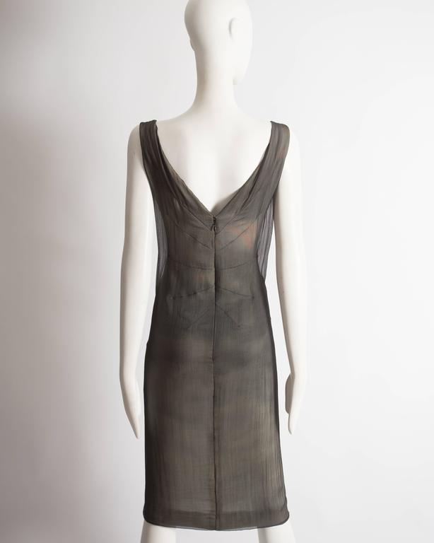 Dolce & Gabbana Virgin Mary chiffon shift dress, circa 1998 For Sale 2