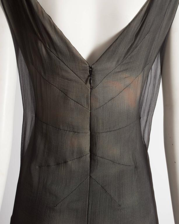 Dolce & Gabbana Virgin Mary chiffon shift dress, circa 1998 For Sale 3