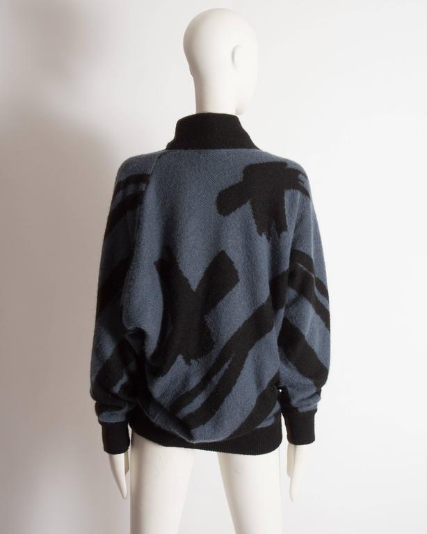 Issey Miyake oversized wool sweater, circa 1980 6