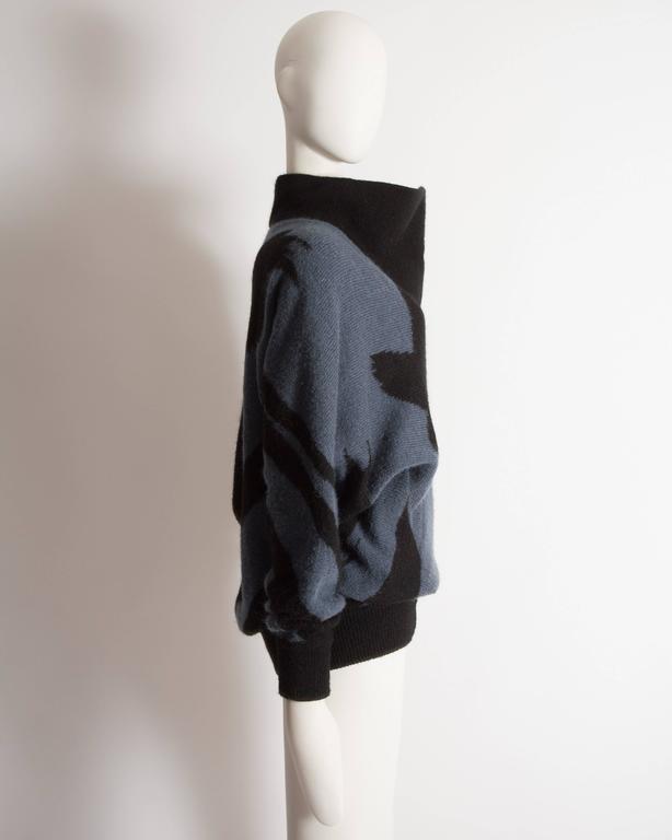 Issey Miyake oversized wool sweater, circa 1980 5