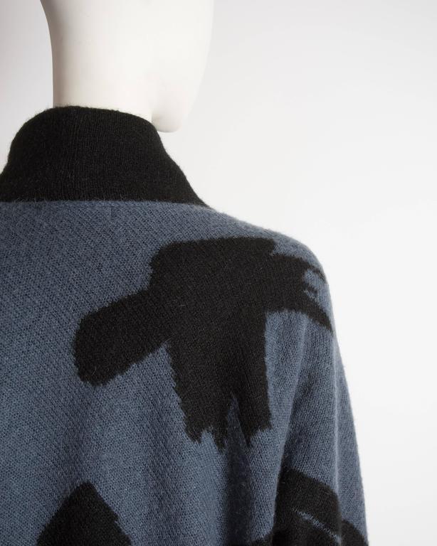 Issey Miyake oversized wool sweater, circa 1980 7