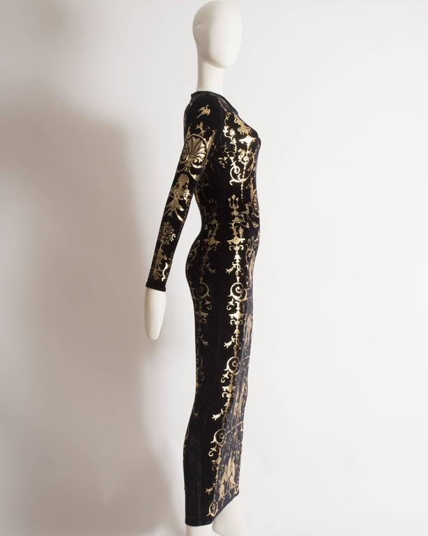 Vivienne Westwood 'Portrait Collection' Sheath Dress, Circa 1990 6