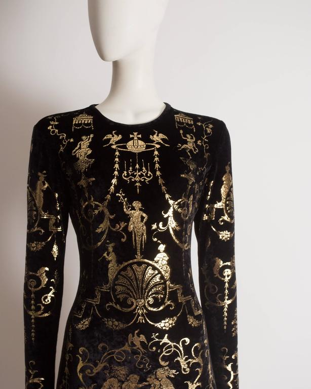 Vivienne Westwood 'Portrait Collection' Sheath Dress, Circa 1990 5