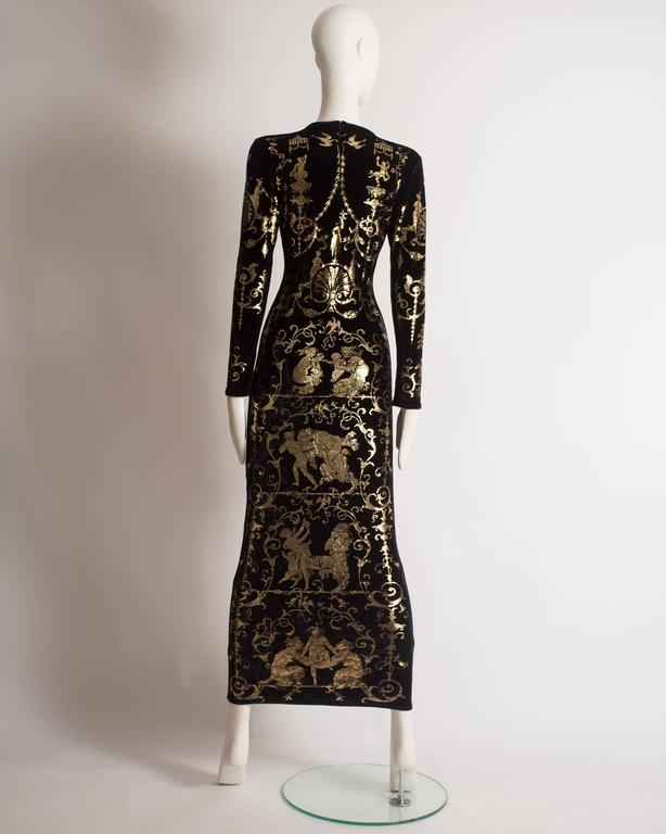 Vivienne Westwood 'Portrait Collection' Sheath Dress, Circa 1990 7