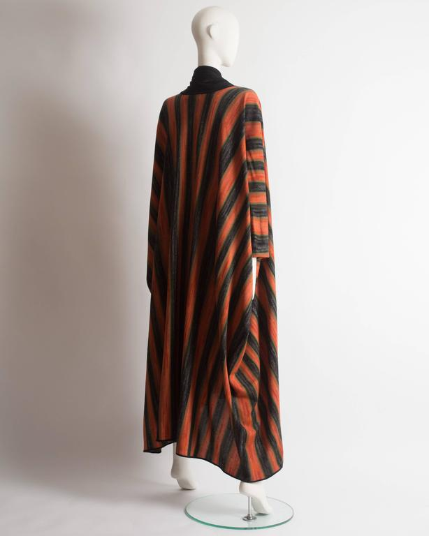 Issey Miyake striped knitted robe, circa 1976 For Sale 2