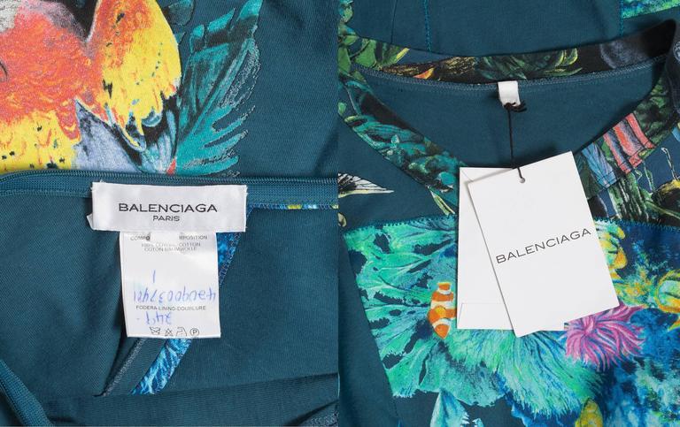 Balenciaga by Nicolas Ghesquiere scuba mini dress, SS 2003 10