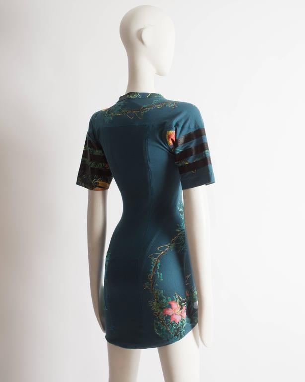 Balenciaga by Nicolas Ghesquiere scuba mini dress, SS 2003 9