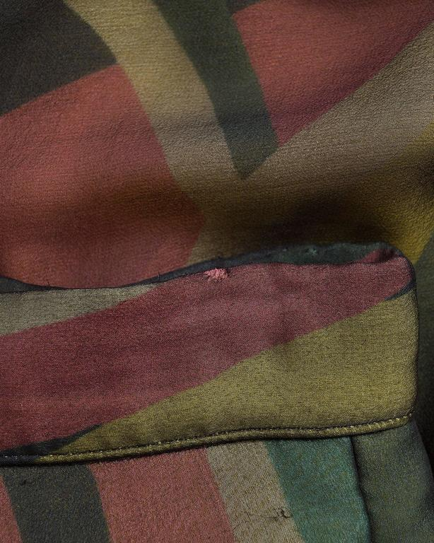 Yohji Yamamoto silk chiffon evening skirt,  AW 2005 10