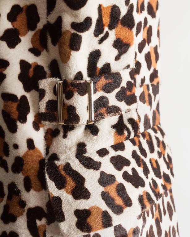 Alaia pony hair leopard print coat and boots ensemble 8