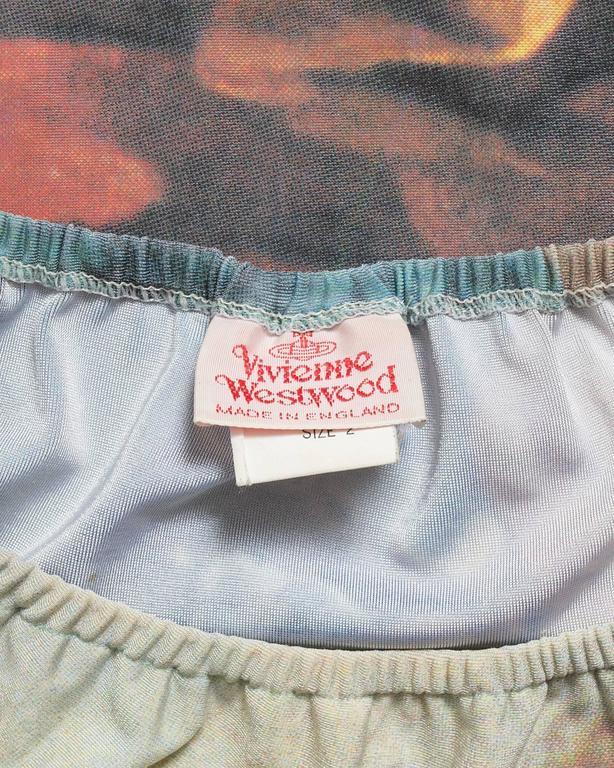Vivienne Westwood leotard with Francois Boucher print, AW 1990 6