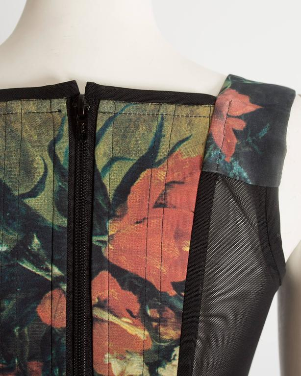Vivienne Westwood  'Vive la Cocotte' floral print corset, AW 1995 For Sale 3