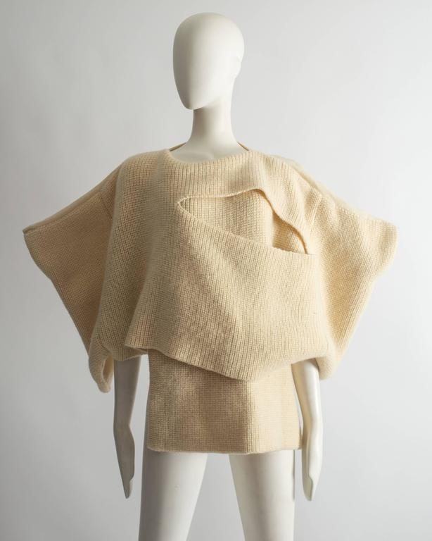 Comme des Garcons Tricot knitted sweater, Autumn Winter 1983 2