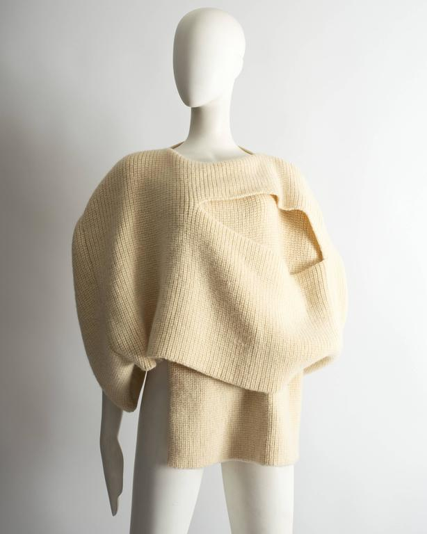 Comme des Garcons Tricot knitted sweater, Autumn Winter 1983 3