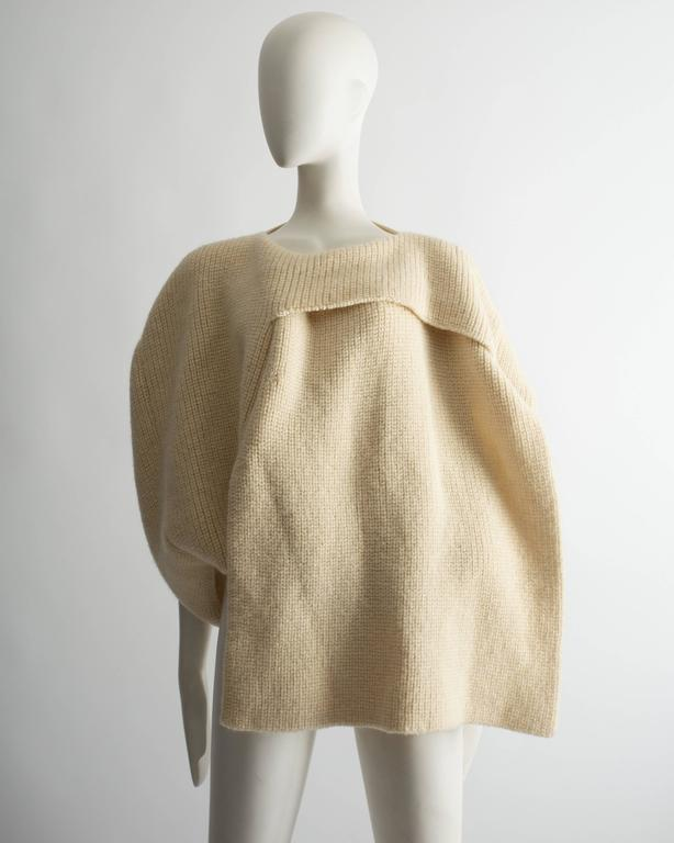 Comme des Garcons Tricot knitted sweater, Autumn Winter 1983 5