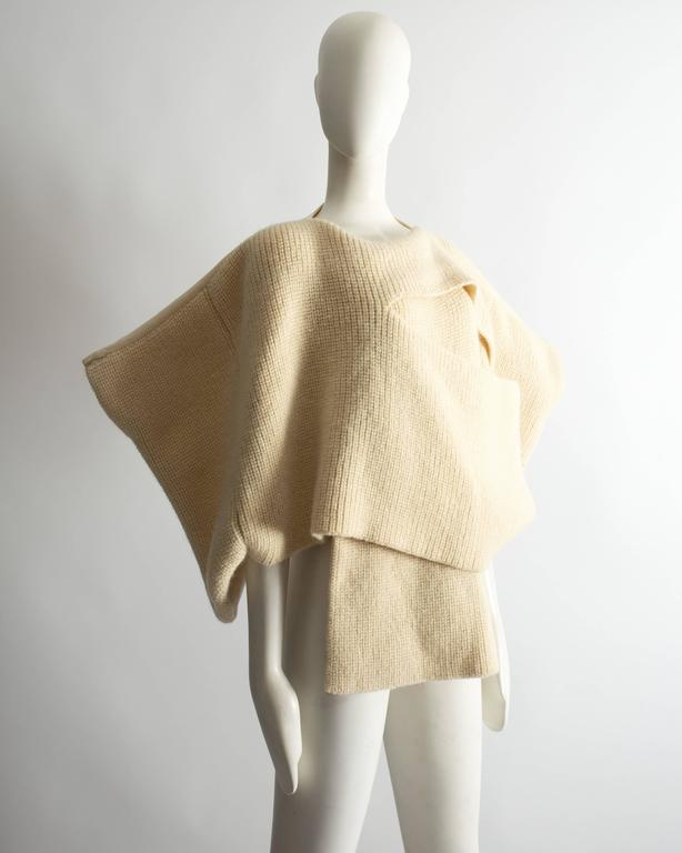 Comme des Garcons Tricot knitted sweater, Autumn Winter 1983 4