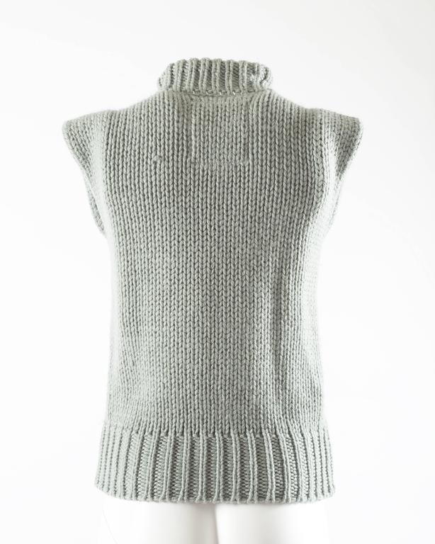 Margiela Autumn-Winter 1994 reproduction of a doll's sweater vest 6