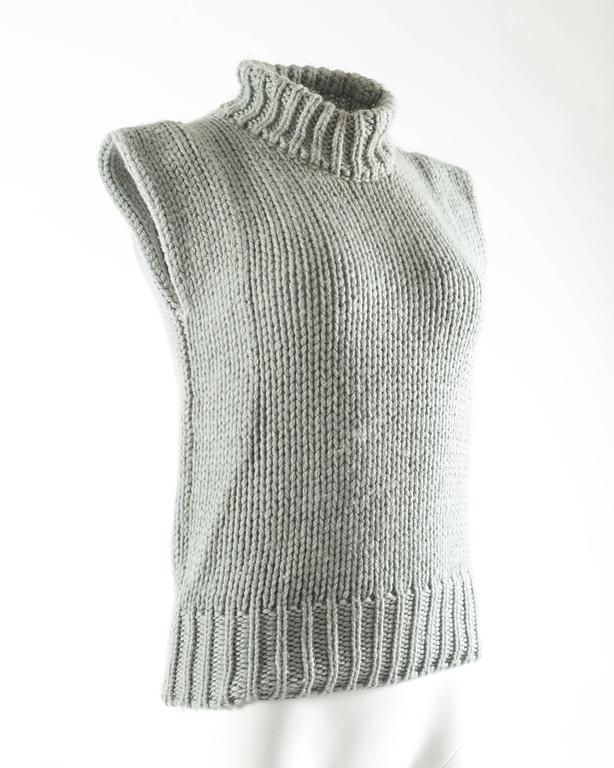 Margiela Autumn-Winter 1994 reproduction of a doll's sweater vest 5