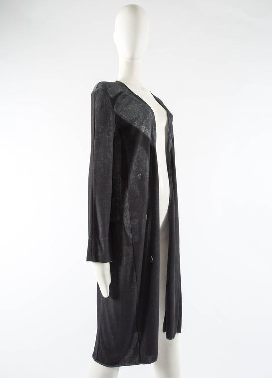 Maison Martin Margiela Spring-Summer 1996 digital print jersey cardigan In Excellent Condition For Sale In London, GB