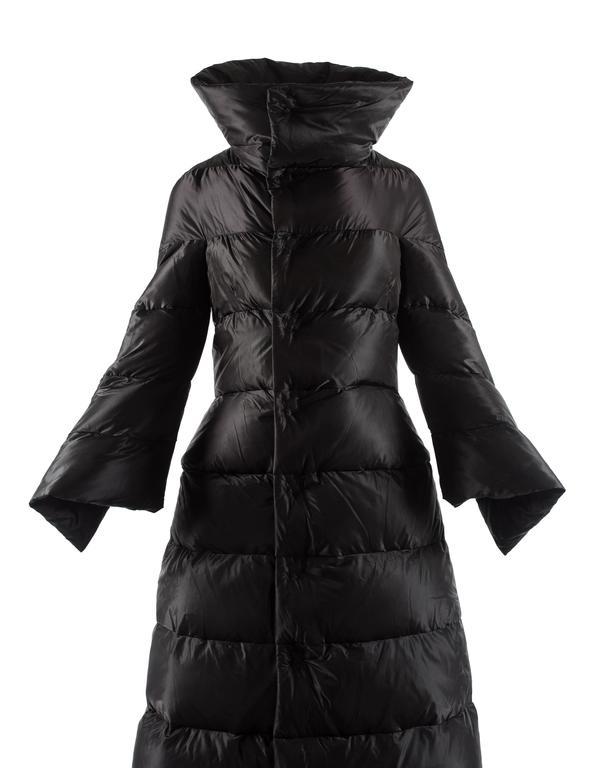Junya Watanabe Autumn Winter 2009 Black Puffer Duvet Coat