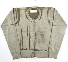 Maison Martin Margiela Autumn-Winter 1998 plastic coated cardigan and vest set