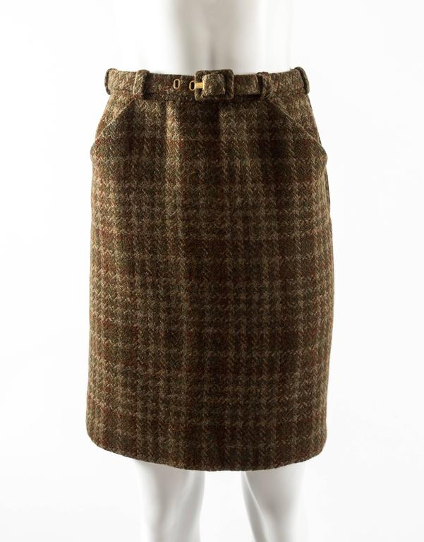 cd34ebf76 Jeanne Lanvin 1940s haute couture tweed jacket and skirt ensemble
