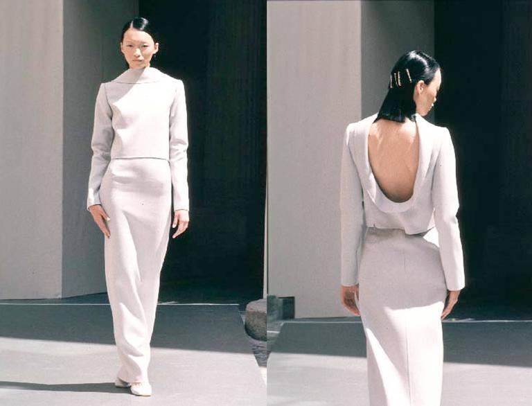 Ocimar Versolato Autumn-Winter 1998 haute couture evening pant suit 2