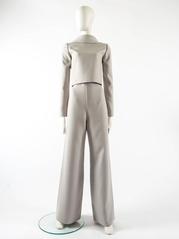 Ocimar Versolato Autumn-Winter 1998 haute couture evening pant suit 4