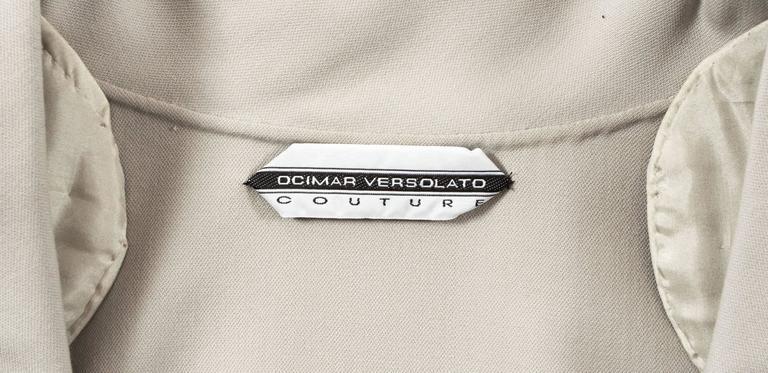 Ocimar Versolato Autumn-Winter 1998 haute couture evening pant suit 7