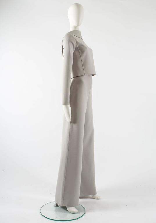 Ocimar Versolato Autumn-Winter 1998 haute couture evening pant suit 3