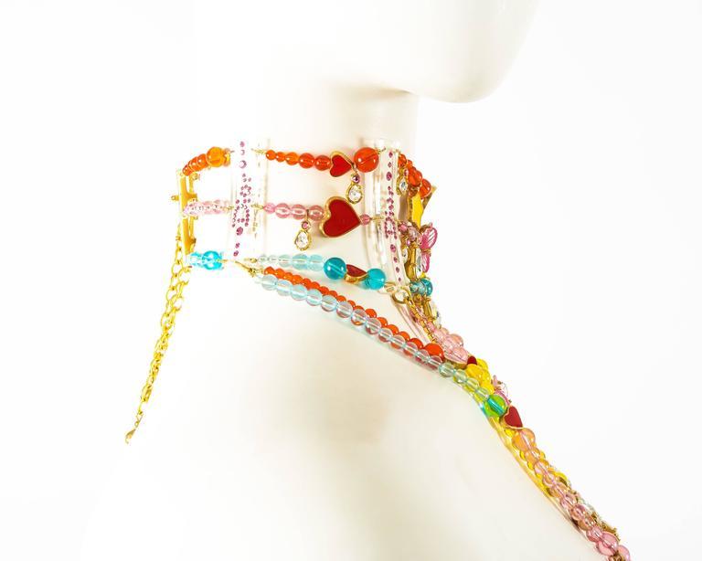 John Galliano for Christian Dior Haute Couture Autumn-Winter 2001 candy choker 7