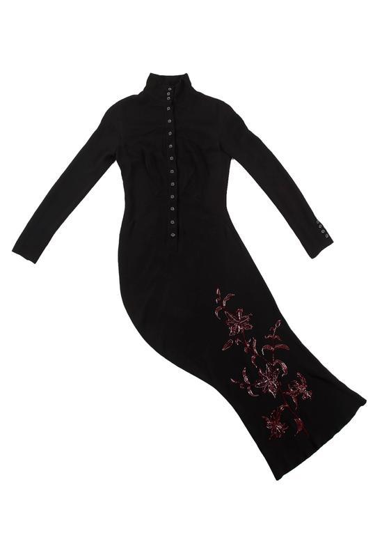 Alexander McQueen Autumn-Winter 1998 'Joan' beaded evening dress 9