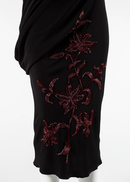 Alexander McQueen Autumn-Winter 1998 'Joan' beaded evening dress 5