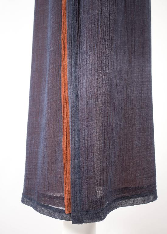 Issey Miyake 1990s layered shirt dress with attached cardigan  4