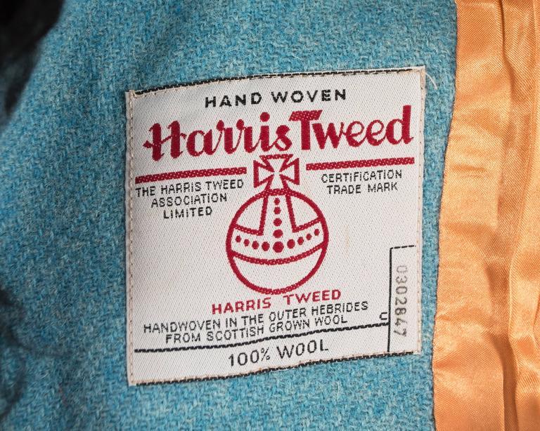 Vivienne Westwood Autumn-Winter 1991 Harris Tweed jacket with sheepskin 9