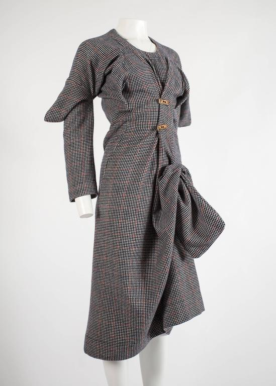 Worlds End Autumn-Winter 1983 'Witches' checked wool dress 4