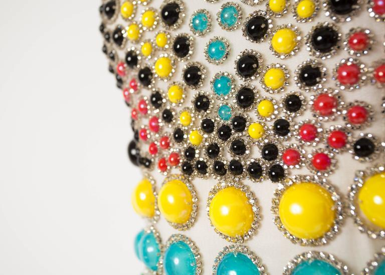 Jeanne Lanvin Spring-Summer 1968 Haute Couture embellished evening vest 4