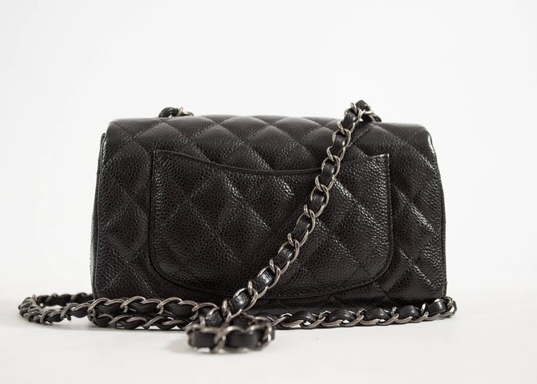e8a11c2d12e Chanel Crossbody Ladies Bag Price In Pakistan (m002908 · Chanel Black  Caviar Mini Classic Crossbody Flap Bag At 1stdibs