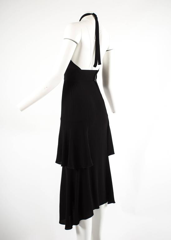 Ossie Clark 1972 halter neck evening dress and blouse ensemble  4