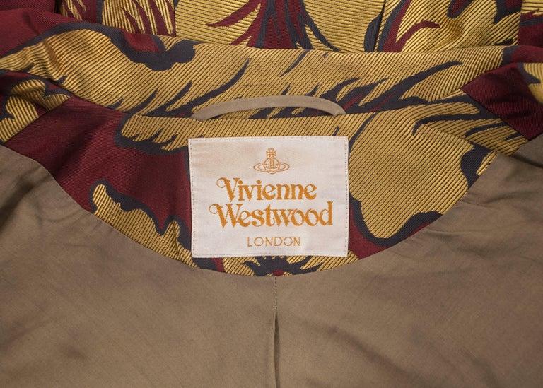 Vivienne Westwood Autumn-Winter 2002 brocade bondage evening jacket  For Sale 5