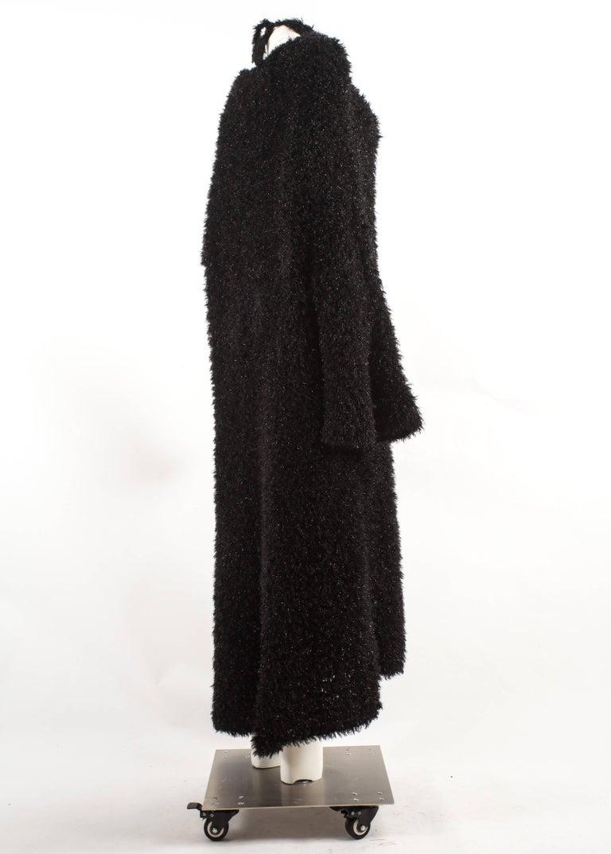 Yohji Yamamoto 1990s oversized black evening cardigan  For Sale 1
