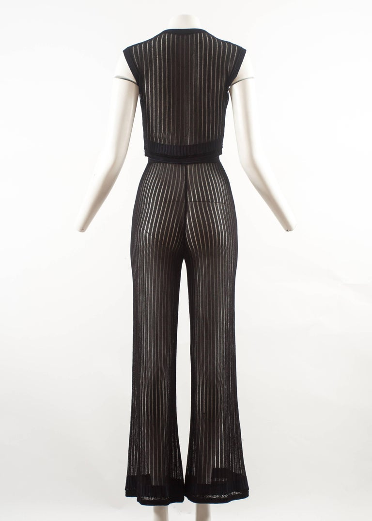 Women's Alaia 3 piece knitted ensemble, Spring-Summer 1992  For Sale