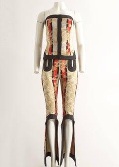 Alexander McQueen Spring-Summer 2000 evening pant suit