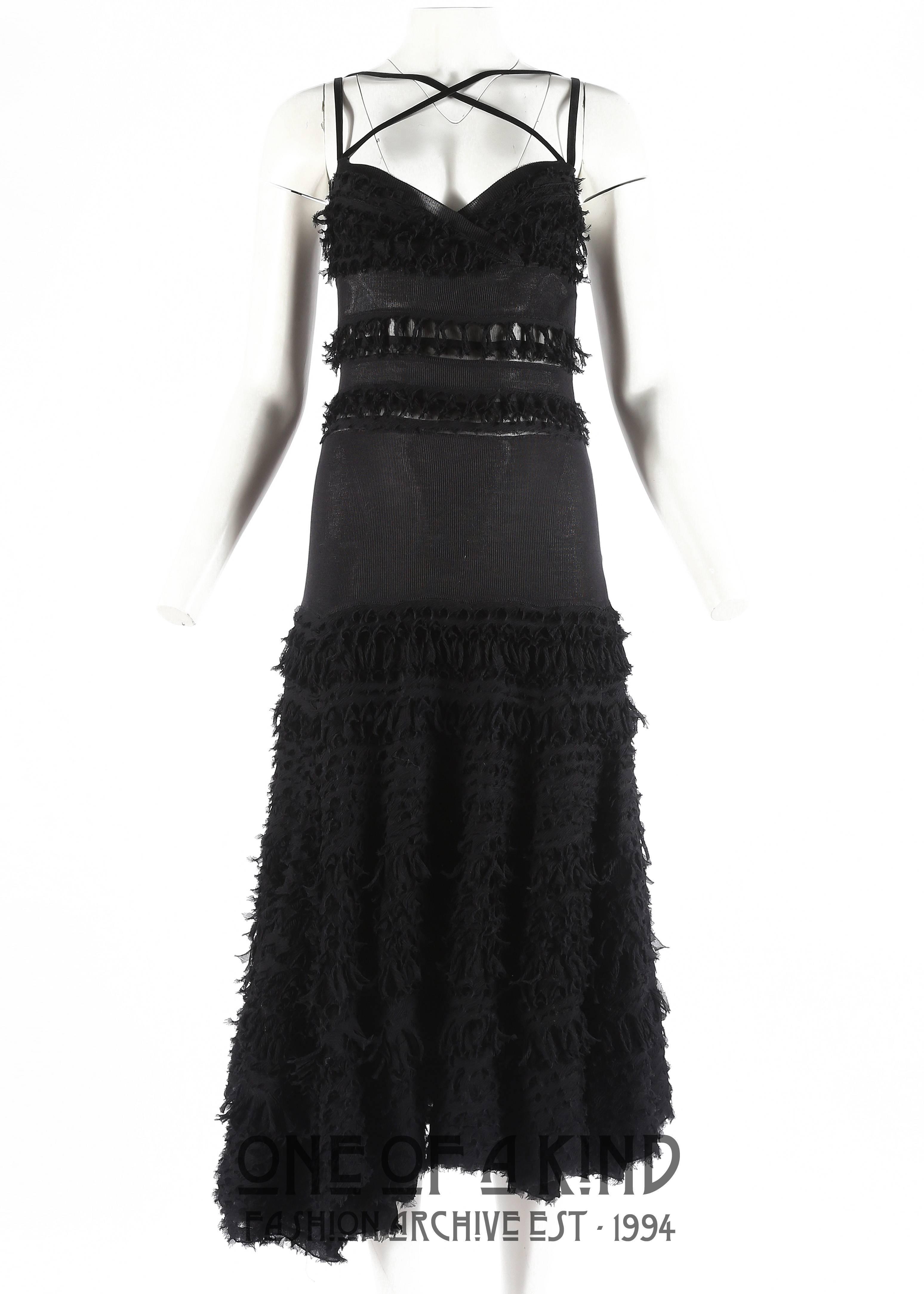 Black silk evening dresses