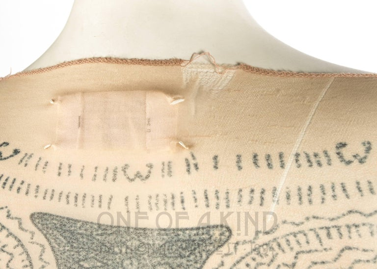 Margiela trompe-l'œil tattoo mesh top, Spring-Summer 1989 3