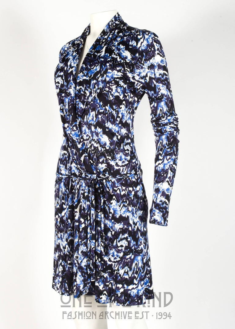 Balenciaga by Nicolas Ghesquière rayon jersey cocktail dress, Autumn-Winter 2009 For Sale 1