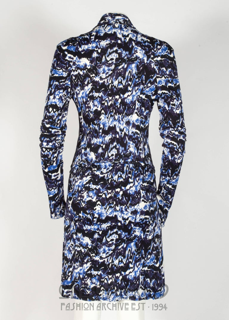 Balenciaga by Nicolas Ghesquière rayon jersey cocktail dress, Autumn-Winter 2009 For Sale 2