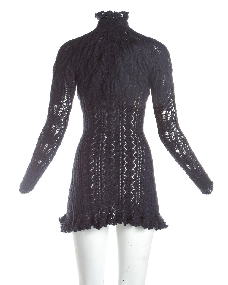 Vivienne Westwood knitted mini dress with internal corset, A / W 1993 For Sale 1
